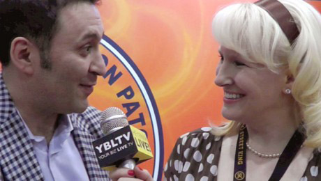 YBLTV Anchor, Erika Blackwell interviews Bytox Director of Sales, Alex Schvarts at the Nightclub & Bar Show 2012.