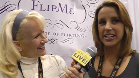 FlipMe Rachel Dealto chats with YBLTV Anchor, Erika Blackwell at NCB Show.