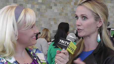 Miss Representation Jennifer Siebel Newsom chats with YBLTV Anchor, Erika Blackwell at the PBWC.