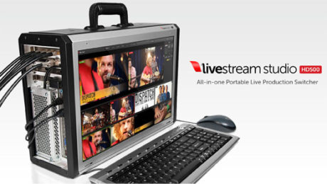 Livestream Enters the Switcher Market with Livestream Studio HD500