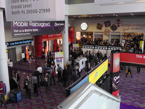 2013 International CES Keynotes, High-Performance Audio, Green, Lifestyle and Emerging Tech Featured at The Venetian