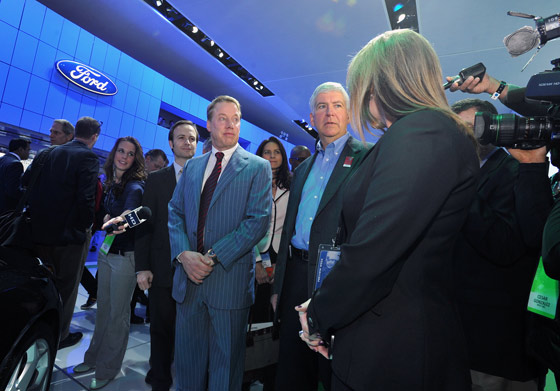 Ford Goes Further with Its Recruiting Strategy at 2013 North American International Auto Show