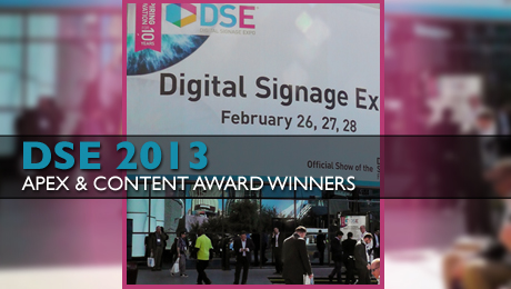 DSE Announces 2013 Apex & Content Award Winners