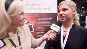 Groupon Director of Communications, Julie Anne Mossler & YBLTV Anchor, Erika Blackwell at Nightclub & Bar Show 2013