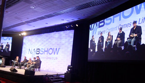 NAB Show and NewTek to Showcase Celebrity Internet Content Creators with Broadcast Minds General Session 2013 Image Courtesy: Your Biz LIVE