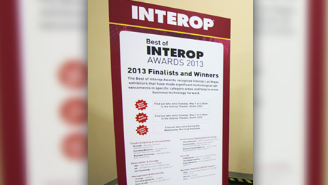 Arista Networks Named 2013 Best of Interop Grand Prize Winner