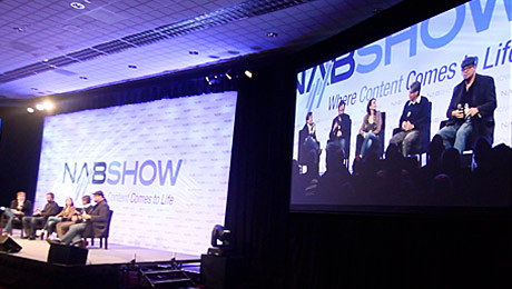 2013 NAB Show and NewTek Showcase Celebrity Internet Content Creators with Broadcast Minds Session