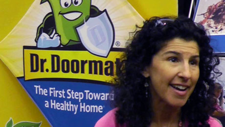 Mompreneur's Germ Slaying Doormat Wins Coveted Retailers' Choice Award