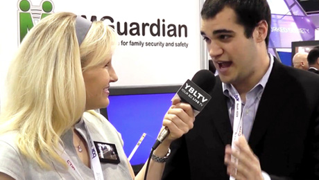 MMGuardian, Paul Grossinger chats with YBLTV Anhor Erika Blackwell at CTIA Super Mobility Week 2013.