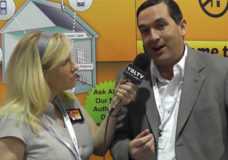Frankie Smith, Director of Sales & Channel Strategy, Wi-Ex with YBLTV Anchor, Erika Blackwell at CTIA 2013 (Your Biz LIVE/Wi-Ex)