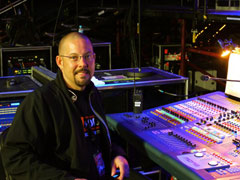 Jason Glass of Cross Plains, TN-based Clean Wireless Audio was hired by Sound Image to handle RF coordination for the stage microphones, IEMs, television crews as well as touring rigs for guest acts during this year's CMA Music Festival (Image Courtesy: Jason Glass)