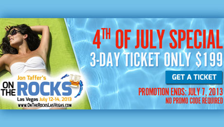 On The Rocks: Red White & Vegas 4th of July Ticket Special