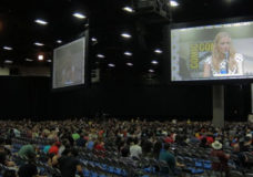 Qube Cinema partners with Moving Image Technologies (MiT) to provide multiscreen projection of synchronized digital cinema content in Hall H at Comic-Con International 2013 in San Diego. (Image Courtesy: Qube Cinema)