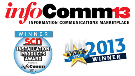 Vaddio Wins Most Innovative Collaborative Solution and Best Pan/Tilt/Zoom Camera at InfoComm 2013