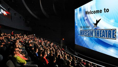 Qube Cinema True 4K 3D System Installed for Giant Screen at Air Force Museum Theater