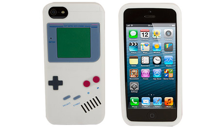 Rocketcases Protects Your New iPhone 5S with Retro Gamer Cases