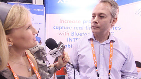 iSIGN Media Corp. Chief Technology Officer, Mark Janke speaks with YBLTV Anchor, Erika Blackwell at Digital Signage Expo 2014. (Image Courtesy: iSIGN Media Corp./Your Biz LIVE).