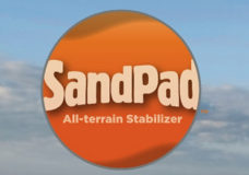 The SandPad™ Beach Crutch Tips to Showcase at the 2014 Los Angeles Abilities Expo