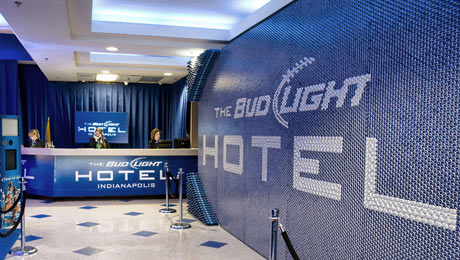 The Official Bud Light® Hotel Makes Its Las Vegas Debut During the 2014 Nightclub & Bar Convention & Trade Show