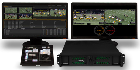 NewTek 3Play 425 Integrated Sports Production System (Image Courtesy: NewTek).