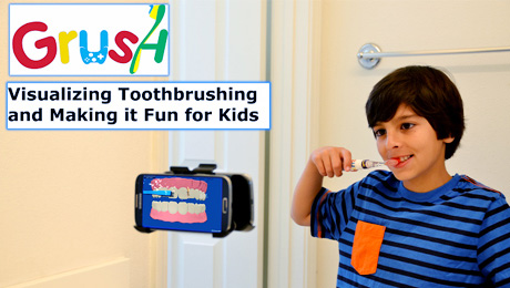 Video Game Toothbrush for Kids Launches Grush (Game-Brush)