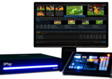 NewTek 3Play 440 Integrated Sports Production System (Image Courtesy: NewTek).