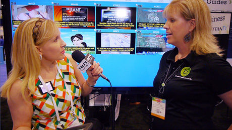 Broadcast Interactive Media's SVP, Licensed Application Sales, Heidi Steffen chats with YBLTV Anchor, Erika Blackwell at NAB 2014.