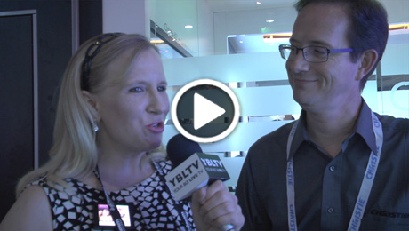 Vista Systems, Product Line Manager, Christian Merrill talks Christie Brio with YBLTV Anchor, Erika Blackwell at InfoComm 2014.