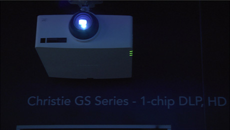 Christie's First Laser Phosphor Series of 1-Chip DLP Projectors