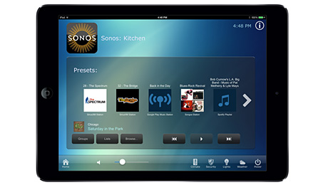 RTI Releases Two-Way Driver for Sonos® Audio Devices. RTI-RTiPanel Sonos Favorites.