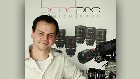 Band Pro Expands Operations with New Berlin Office. Vojtech Pokorny, Digital Image Consultant / Technical Sales, will head the new branch.