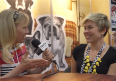 From Frank, Creator, Kate Smith talks with YBLTV Anchor, Erika Blackwell at Licensing Expo 2014. (Image Courtesy: From Frank / Your Biz LIVE).