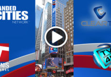ClearTV and Branded Cities partner to bring Tennis Channel to Times Square on spectacular digital screens throughout the U.S. Open.