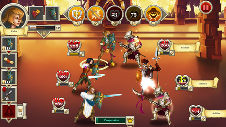Heroes & Legends: Conquerors of Kolhar Strategy Role-Playing Game Available Now