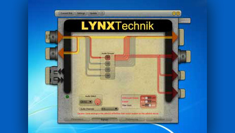 LYNX Technik Launches Version 2 of yelloGUI Software Application for yellobriks at IBC 2014.