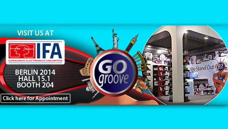 GOgroove by Accessory Power Set to Make Third Appearance at IFA Consumer Electronics Unlimited Show in Berlin, Germany with Big Plans for the Future
