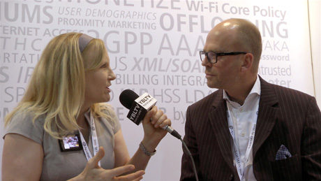 Aptilo Networks, VP Marketing, Johan Terve chats with YBLTV Anchor, Erika Blackwell at CTIA SMW 2014.