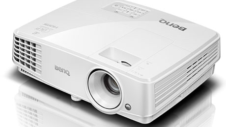 One of the newest generation of M5 Series Projectors, BenQ MW526. Other projectors in this series consist of the MX525 and MS524.