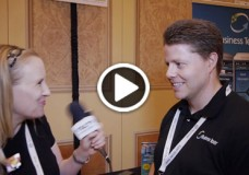 Business Texter, CTO, David Johnston chats with YBLTV Anchor, Erika Blackwell at CTIA SMW 2014.
