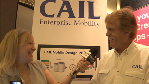 Cail Enterprise Mobility VP - Business Development, Ronald Thompson chats with YBLTV Anchor, Erika Blackwell at CTIA SMW 2014.