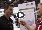 Gemalto Technical Project Leader, Jan Siba chats NFC mobile transport solutions with YBLTV Anchor, Erika Blackwell at CTIA Super Mobility Week 2014.