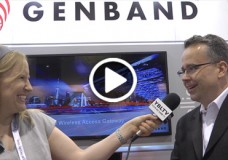 GENBAND Chief Marketing Officer, EVP, Brad Bush chats  Kandy and more with YBLTV Anchor, Erika Blackwell at CTIA SMW 2014.