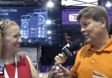 iBOLT Vice President of Marketing, Michael Petersson chats with YBLTV Anchor, Erika Blackwell at CTIA SMW 2014.
