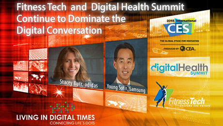 Speaker Lineup includes Innovators from adidas, Samsung, HealthQ, UCSF, MC10 and more