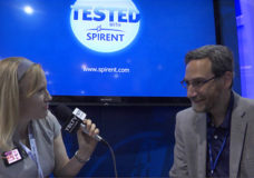 Spirent Communications plc, VP, Venture Development, Saul Einbinder chats with YBLTV Anchor, Erika Blackwell at CTIA SMW 2014.