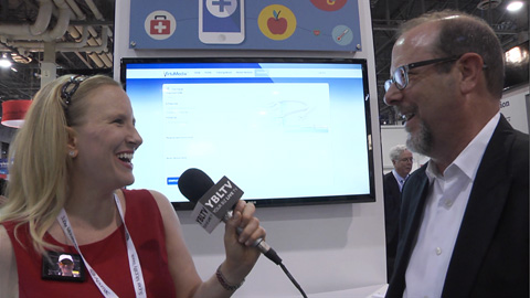 TeleCommunication Systems, Inc. SVP, Chief Technology Officer, Drew A. Morin chats with YBLTV Anchor, Erika Blackwell at CTIA SMW 2014.
