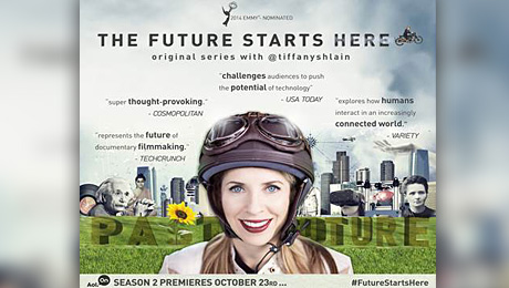 """AOL ORIGINAL SERIES """"THE FUTURE STARTS HERE BY @TIFFANY SHLAIN"""""""
