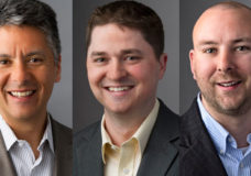 Biamp Systems' Steve Kawasaki, Chris Chandler & Jake Corlett.