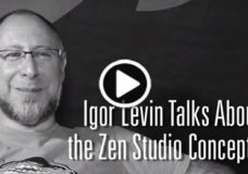 Igor Levin describes Zen Studio design concepts