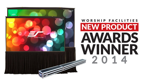 Elite Screens QuickStand 5-Second Wins 2014 WFX AWARD